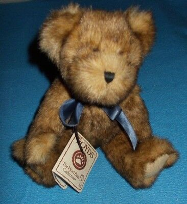 Boyds Bear Winslow Beariman Approx 11 Inches Tall Hand Made
