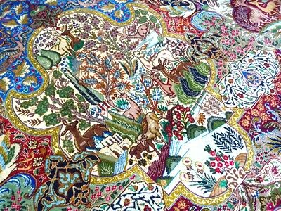 """Mint Cr.1930 Antique Persian Kashmar Hand Made Exquisite Rug 9' 9"""" x 13' 4"""""""