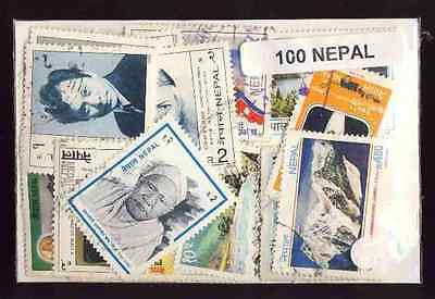 Nepal 100 timbres différents