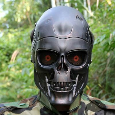 Terminator Full Face Paintball Tactical Mask for Wargame Cosplay