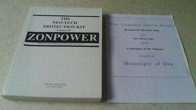 Zonpower the Neo-Tech protection kit Volume II + booklet The greatest Secret Eve