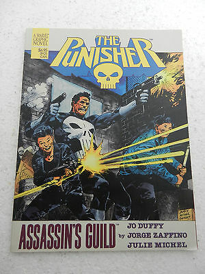 The Punisher Assassin's Guild 1988 A Marvel Graphic Novel! Duffy Zafffino Michel