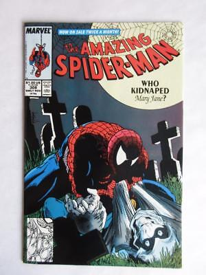 Amazing Spider-Man # 308 - NEAR MINT 9.8 NM - Avengers Iron Man MARVEL Comics!