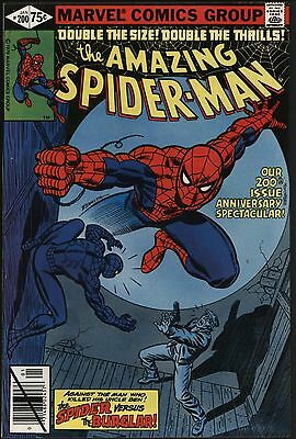 AMAZINg SPIDER-MAN #200 PERFECT NEWS-STAND FRESH NEAR MINT 9.4. GREAT COPY!