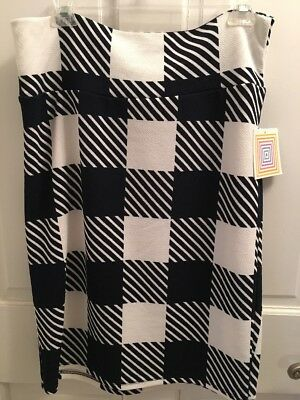 Lularoe Cassie Pencil Skirt. Size XL. Black And White. NWT!!