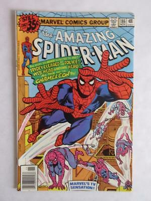 Amazing Spider-Man # 186 - NEAR MINT 9.6 NM - Avengers Iron Man MARVEL Comics!