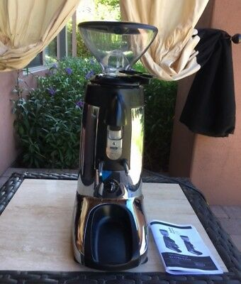 Compak K3 Touch Coffee Grinder - Polished Aluminum