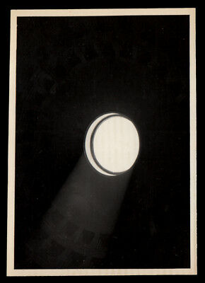 CIRCULAR ENLIGHTENMENT SHINES INTO DARK ABYSS~ 1930s VINTAGE PHOTO