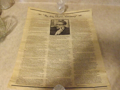 "Malcolm X ""By Any Means Necessary"" Parchment Poster. 16*13.5"""