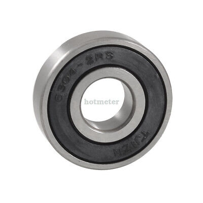 6304-2RS 52mm x 20mm x 15mm Single Row Sealed Deep Groove Ball Bearing