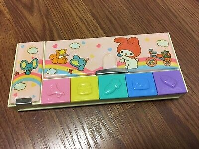 Vintage 1976 Sanrio My Melody Pencil Case