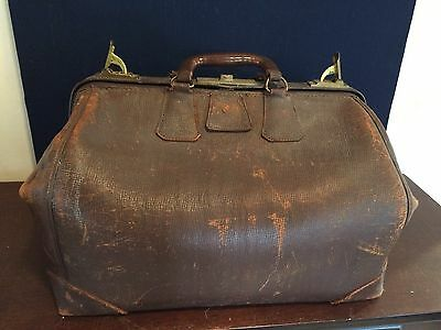 Vintage - Large - VETERINARIAN / DOCTOR'S BAG