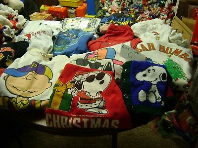 Lot of Snoopy Clothing