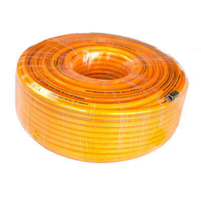 100m PVC High Pressure Weed Spray Hose 8.5mm ID Pest Control Sprayer
