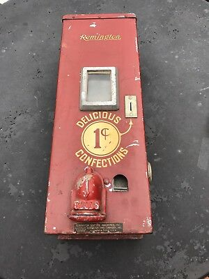 Early Rare Remington Arms Co Inc Confections Candy Machine Look No Reserve