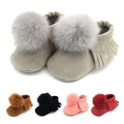 Fashion Toddle Infant Kids Girl Boys Girls Soft Warm Shoes Crib Shoes Sneakers