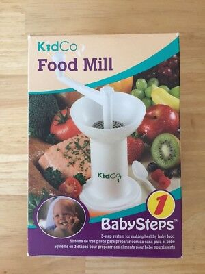 KidCo Baby Steps Food Mill Model F700 - New In Box!