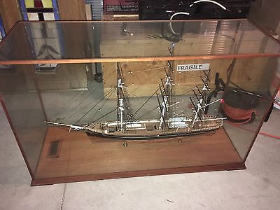 "Vintage ""cutty sark"" model ship by Zakoske Ltd"