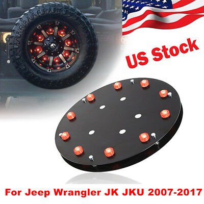 Spare Tire Brake Lights 3rd Tail Light LED for Jeep Wrangler JK JKU  2007-2017