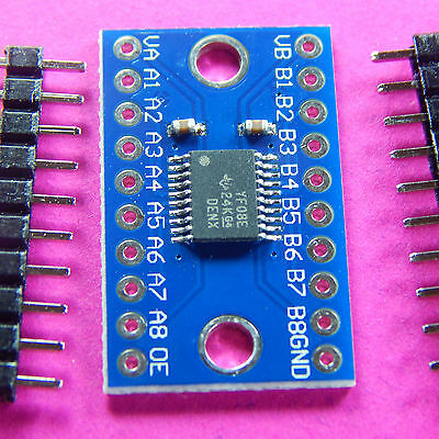 3.3V to 5V TXS0108E 8 Channel Logic Level Converter TTL Bi-directional