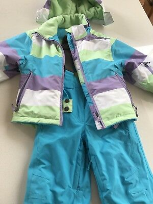 Kids Crane Snow Suit/ Snow pants & Parker Girls Size 4