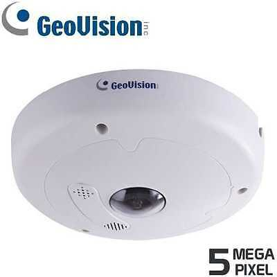 GeoVision GV-FE5302 5MP H.264 Fisheye IP Camera