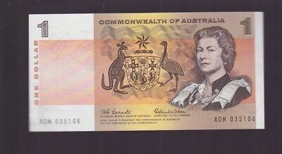 $1  Paper Banknote Commonwealth of Australia Coombs Wilson ADN P-696
