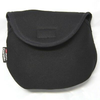 Reel Bag NEOPRENE for 6000 Size Reel, Abu Garcia BLACK 18x16cm