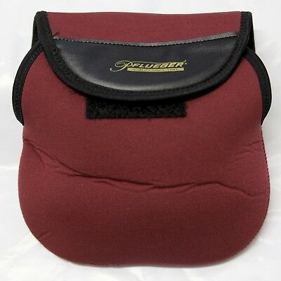 Reel Bag NEOPRENE for 6000 Size Reel, Pflueger MAROON/BLACK 19x20cm