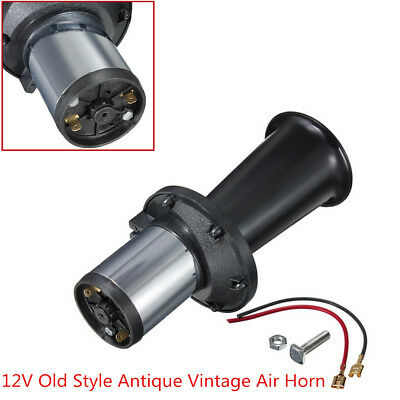 Auto Car Truck Boats 110 db DC 12V Old Style Antique Vintage Loud Sound Air Horn