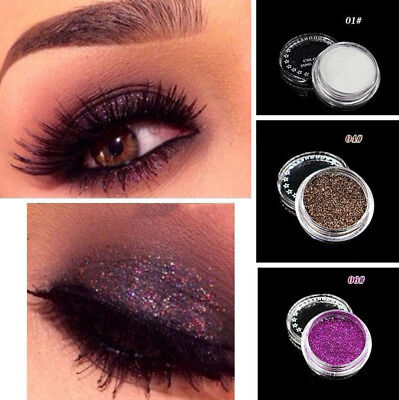 4g Sparkly Makeup Glitter Loose Powder EyeShadow Eye Shadow Pigment 24 Colors