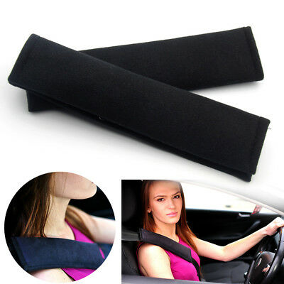 2X Car Seat Safety Belt Pads Harness Shoulder Bag BackPack Cushion Covers