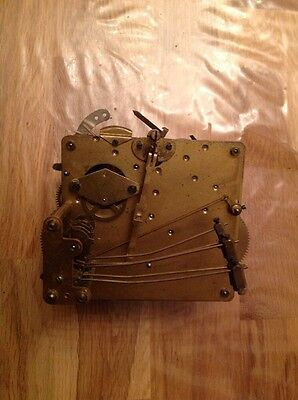 Vintage Clock Movement five Chime Untested For Repair