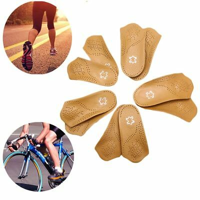 Arch Support Feet Care Orthopedic Insoles Flat Orthotic Insert 3/4 Half Shoe Pad