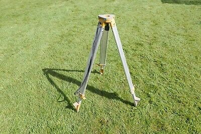 Aluminium tripod for level - well used but fully functional ( still has 3 legs!)
