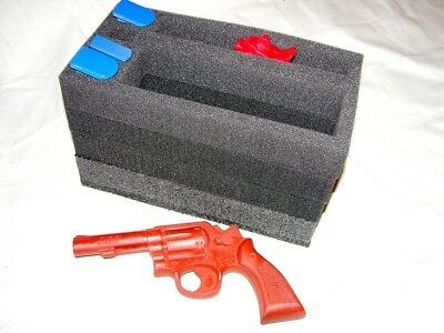 Precut open cell Foam fits 50cal 50 cal caliber Ammo Can hold 1 Pistol +4 mags