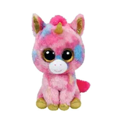 """Lovely Pixy Unicorn Plush Soft Toy, Ty Beanie Boo's Collection 6"""" (15cm) Cute"""