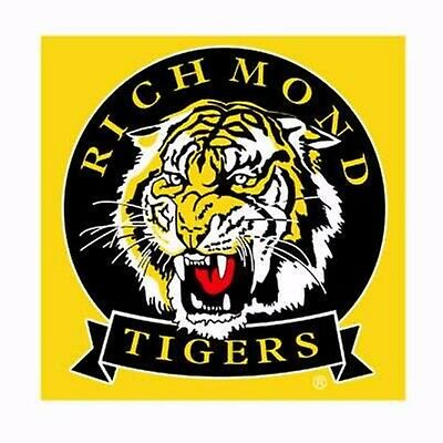 Pack of 2 AFL Richmond Tigers Facewasher Face Washer  REG POST