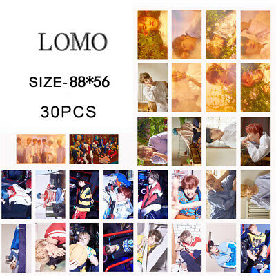 KPOP BTS Love Yourself Lomo Card Bangtan Boys Jimin Suga Photo Poster 30pcs/set