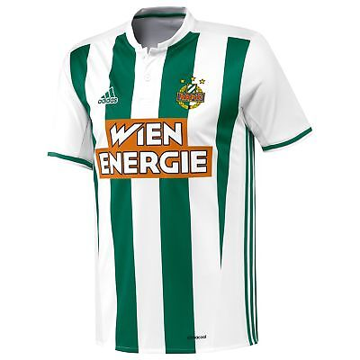 SK Rapid Wien Football Away Shirt 2016 18 Mens adidas