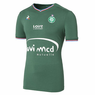 St Etienne Football Home Shirt 2017 18 Kids Le Coq Sportif