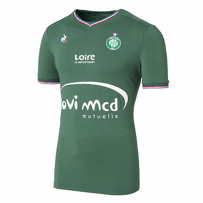 St Etienne Football Home Shirt 2017 18 Mens Le Coq Sportif