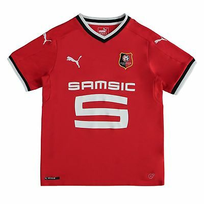 Stade Rennais FC Football Home Shirt 2017 18 Kids Puma