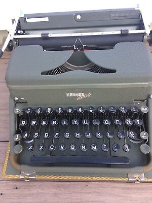 Hermes 2000 Vintage Typewriter Excellent Condition Fully Refurbished