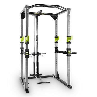 Capital Sports Tremendour Rack Homegym Multi Gripp-Klimmzugstange Latzug Green