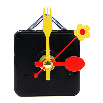 Quiet Mute Hand Hook Quartz Clock Movement Mechanism DIY Repair Tool Parts Kit B