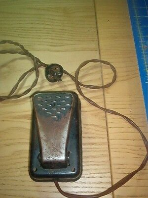 Vintage sewing machine foot pedal with power cord