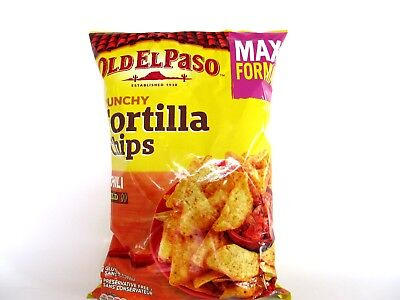 Old el paso, knusprige Tortilla Chips, Mais Chips Chili, 185g