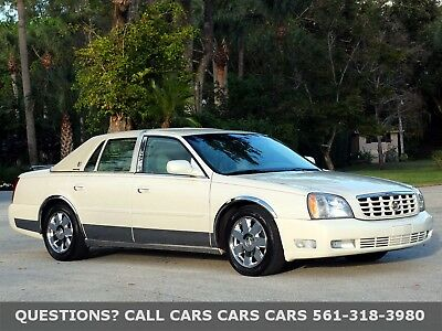 2003 Cadillac DeVille DTS-VOGUE EDITION-LIKE 04 05 06 07 FLORIDA IMMACULATE-MANY UPGRADES-CHROME WHEELS-ABSOLUTELY NONE NICER-MAKE OFFER