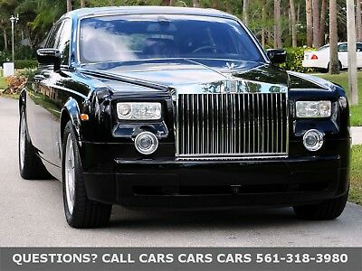 2006 Rolls-Royce Phantom ONLY 29K MILES-1-OWNER-FREE AUTOCHECK-LIKE 07 08 09 10 11 FLORIDA IMMACULATE-LOW MILES-BACK UP CAM-PARK ASSIST-SUNROOF-BIRCH VENEER-NICE